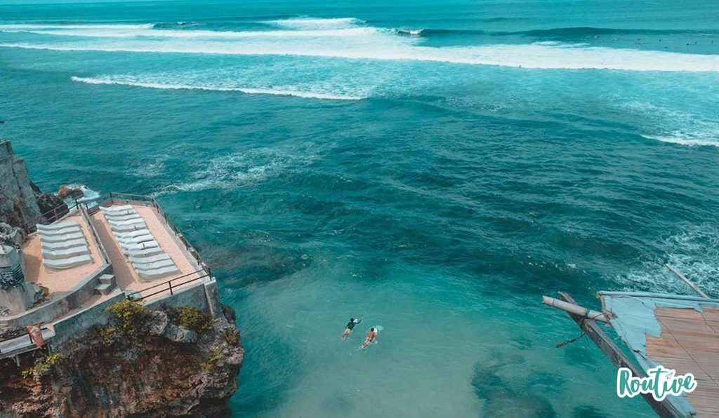 blue point bluepoint single fin singlefin beach bali indonesia oceano mar olas naturaleza