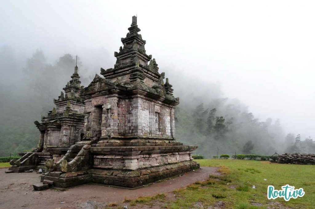 gedong songo java indonesia